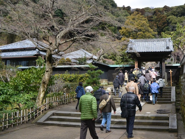 円覚寺境内