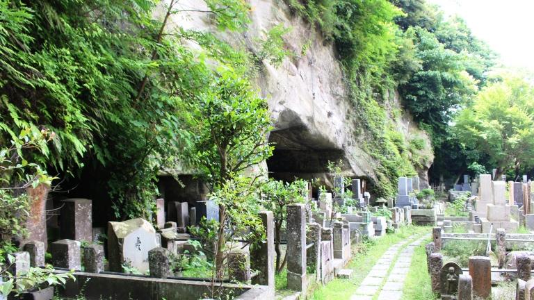 寺院境内の例(東林寺跡)