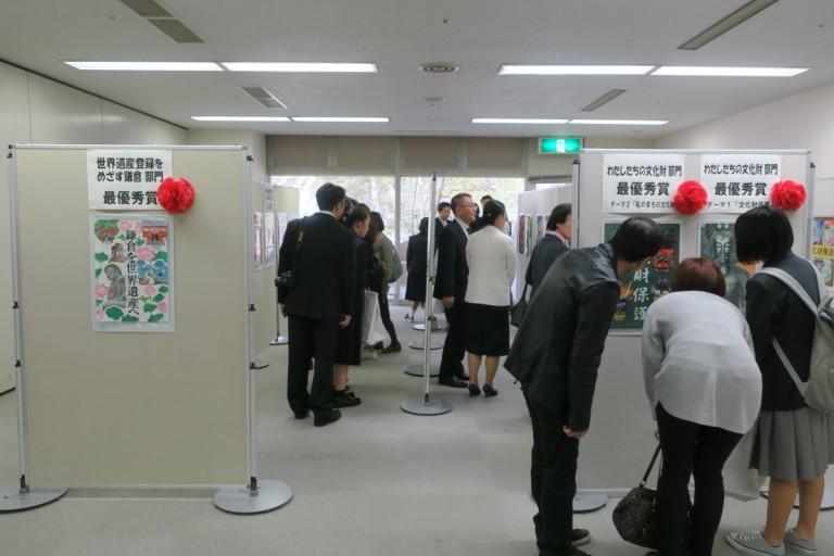 入賞作品の展示も行われました